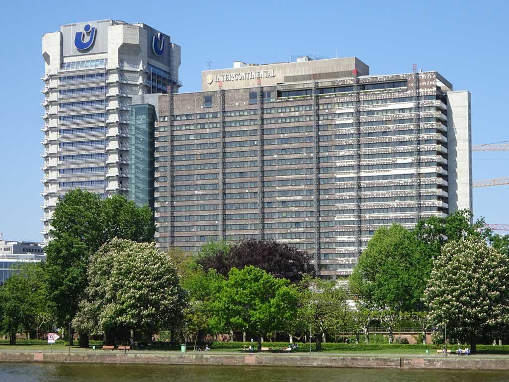 Renovierung des Fassade des Intercontinental Hotels