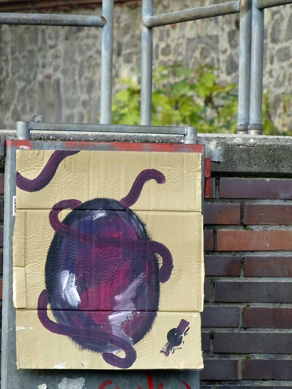 Streetart Frankfurt - Pappe