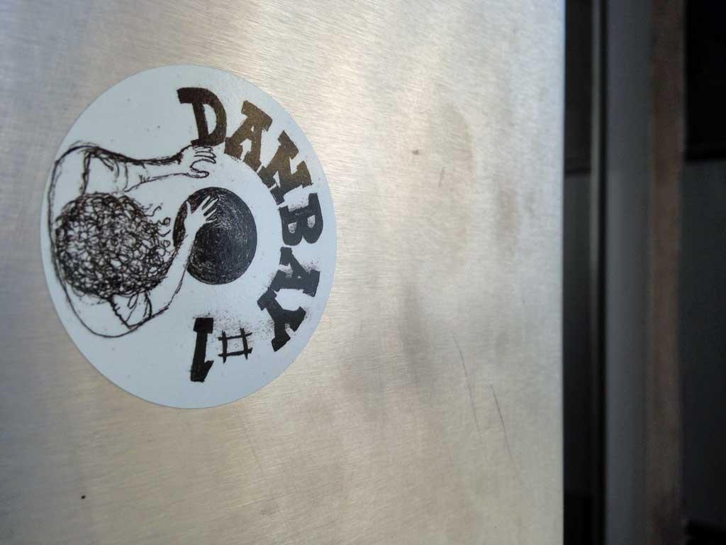Aufkleber in Frankfurt - Danbay #1