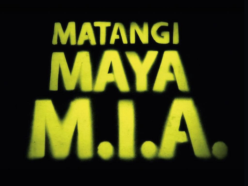 "M.I.A.-Doku ""Matangi Maya M.I.A."""