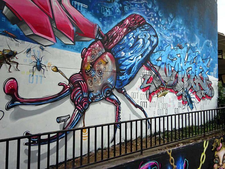 Graffiti in Wiesbaden - Meeting Of Styles