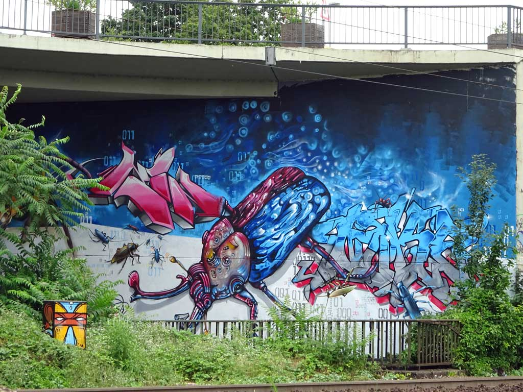 Graffiti in Wiesbaden - Meeting Of Styles