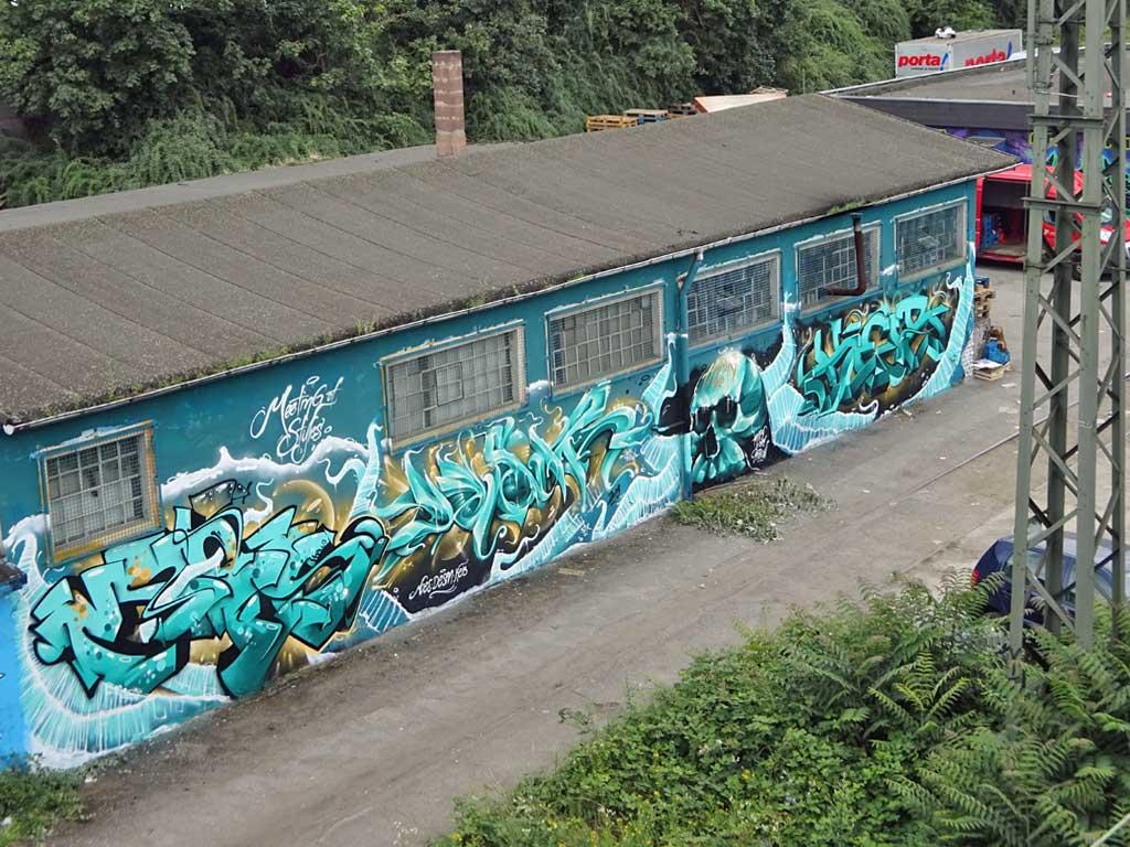 Graffiti in Wiesbaden - Moes- Desan - Keib