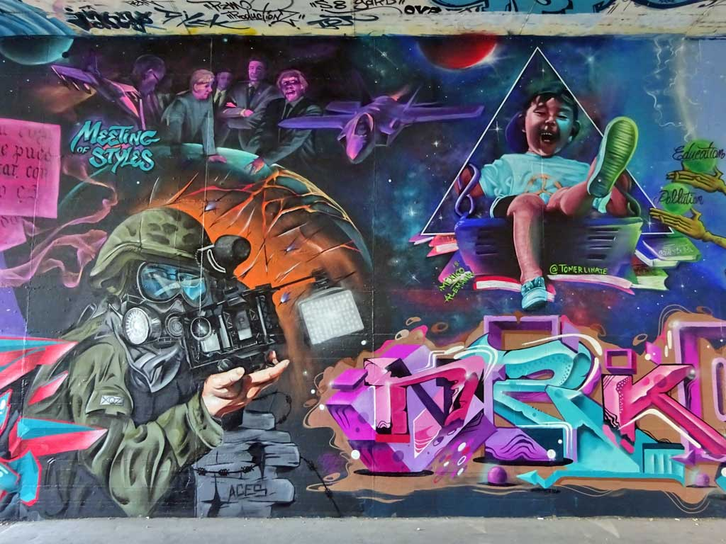 Graffiti in Wiesbaden - Meeting of Styles 2018