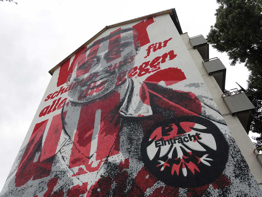 Tony Yeboah Haus in Frankfurt