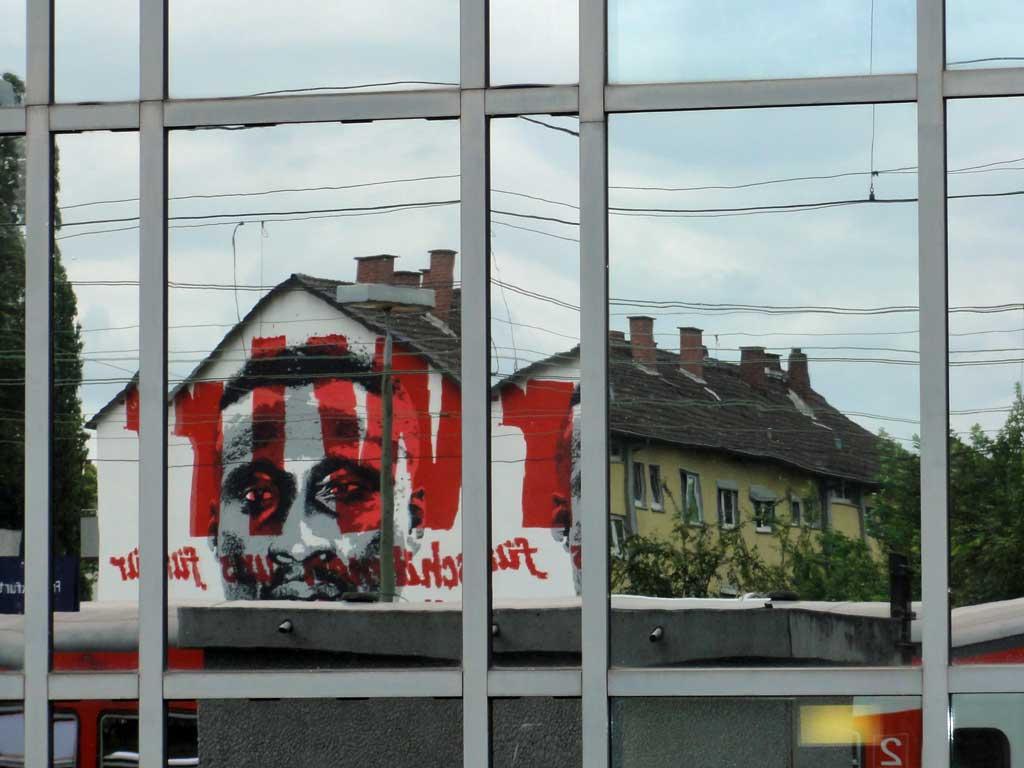 Das Tony Yeboah Haus in Frankfurt Niederrad