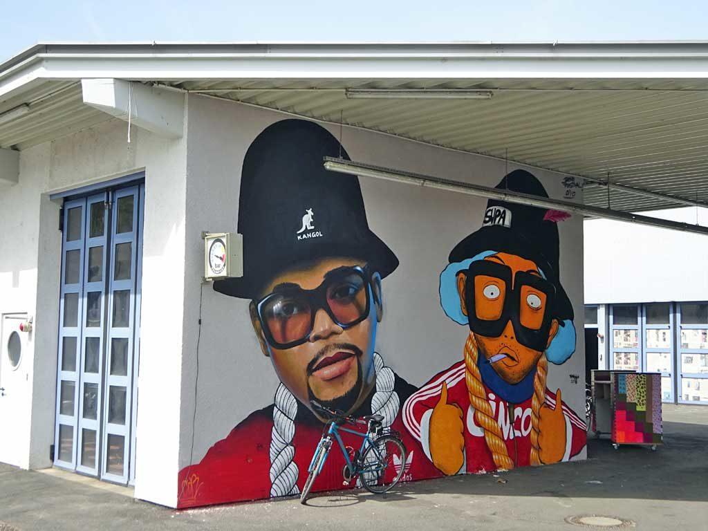 5stars - Streetart beim Blend Festival in Frankfurt
