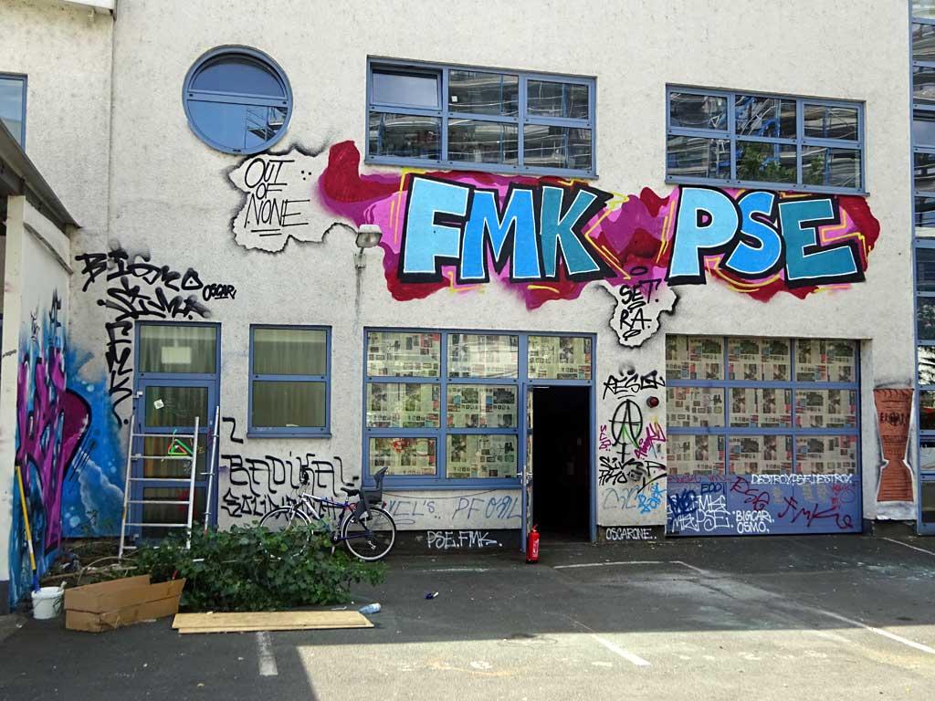 FMK, PSE - Graffiti beim Blend Festival in Frankfurt