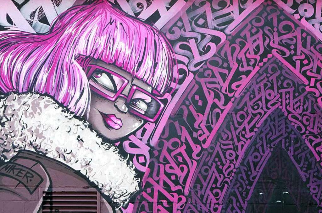 Niker, Engin Dogarn - Streetart beim Blend Festival in Frankfurt