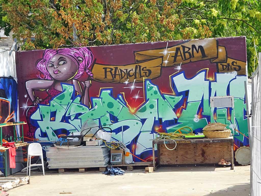 Radicals - Graffiti beim Blend Festival in Frankfurt