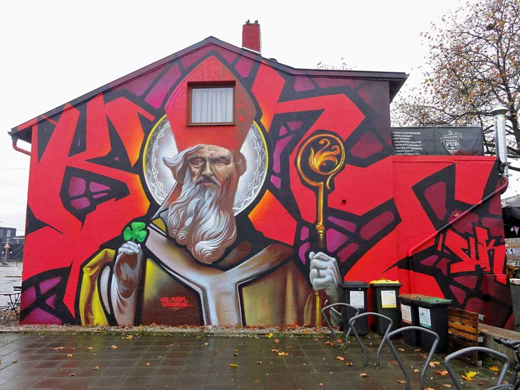Mural in Frankfurt by Case Ma'Claim x Klark Kent
