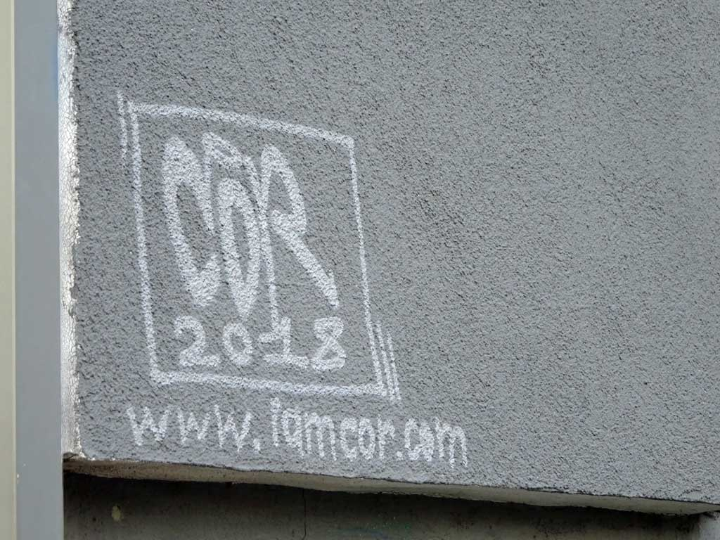 Cor - Let your life grow - Graffiti in Frankfurt am Main