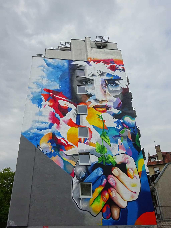 Cor - Let your life grow - Graffiti in Frankfurt