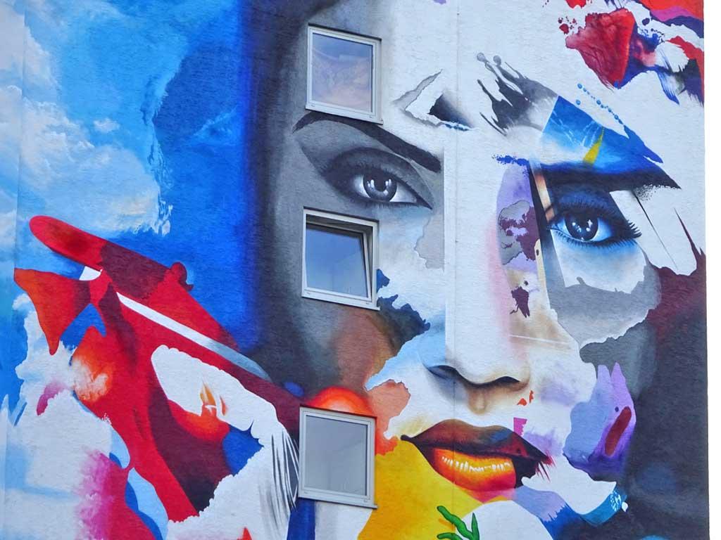 Cor - Let your life grow - Street Art in Frankfurt