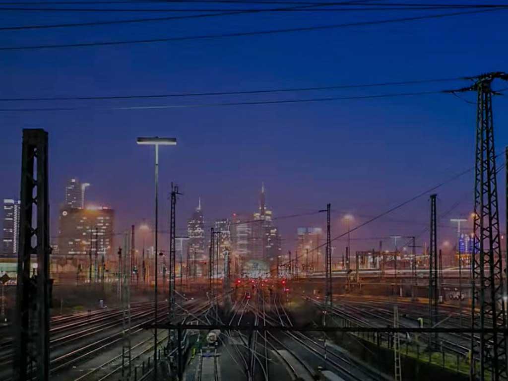 Deutsche Bahn Frankfurt Timelapse Video