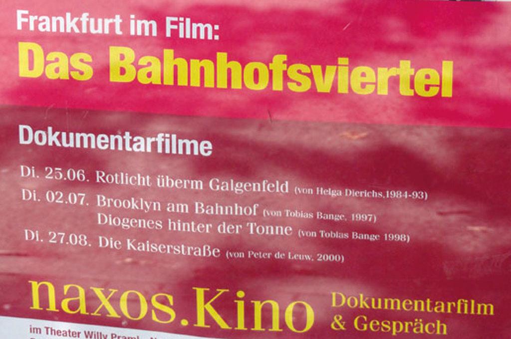 Frankfurt im Film - Das Bahnhofsviertel