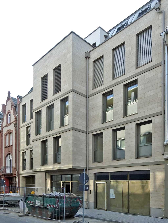 Neubau in der Arnsburger Straße