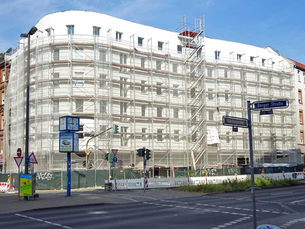 Frankfurt Berger Straße 113, Ecke Höhenstraße
