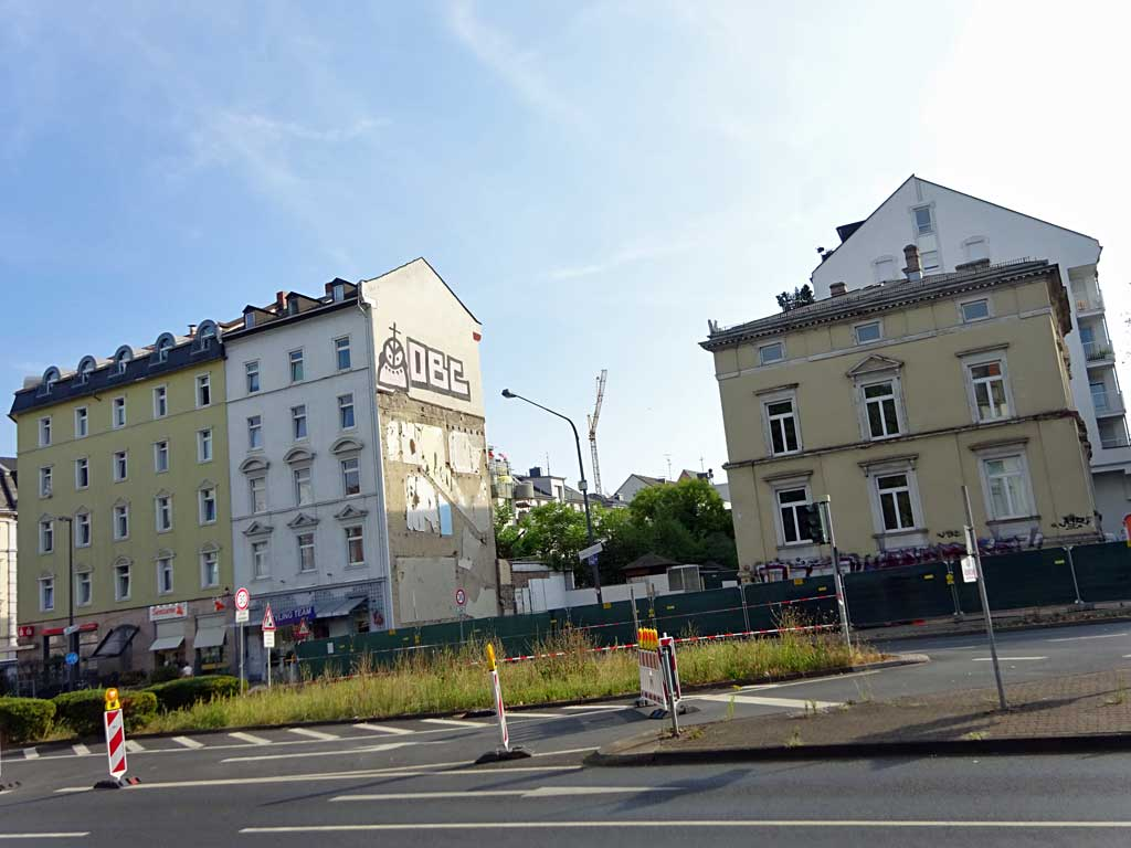 Frankfurt Habsburger Allee, Haus abgerissen