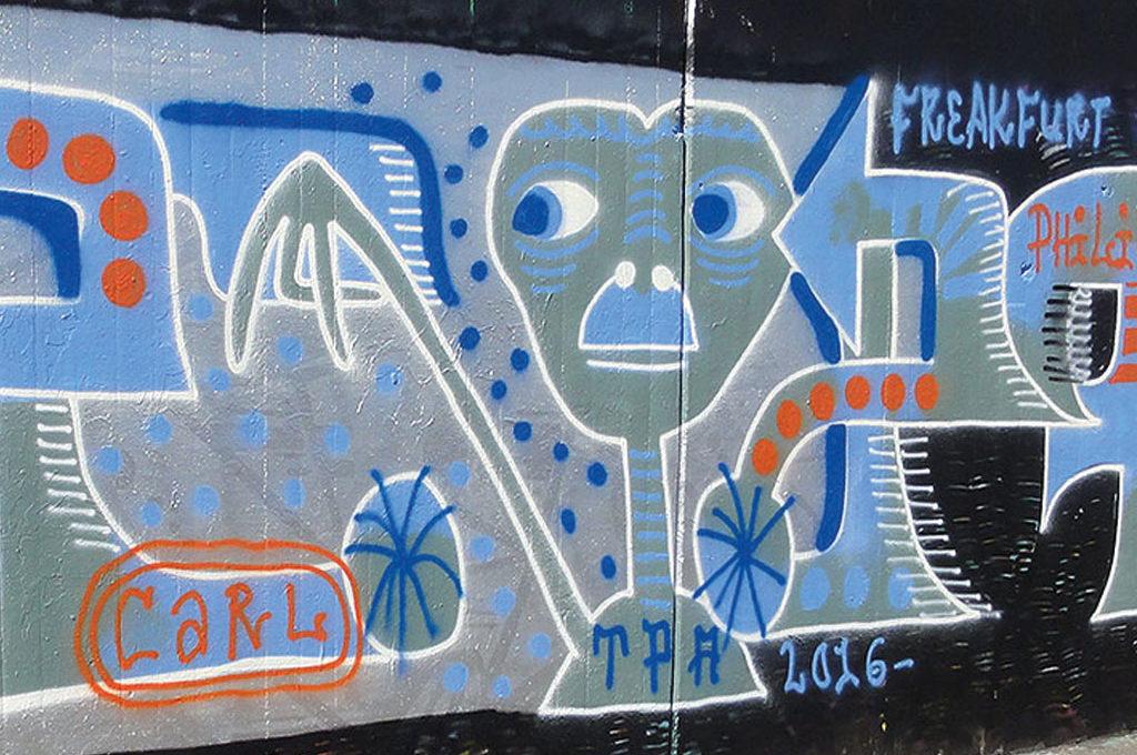 Freakfurt-Graffiti in Frankfurt