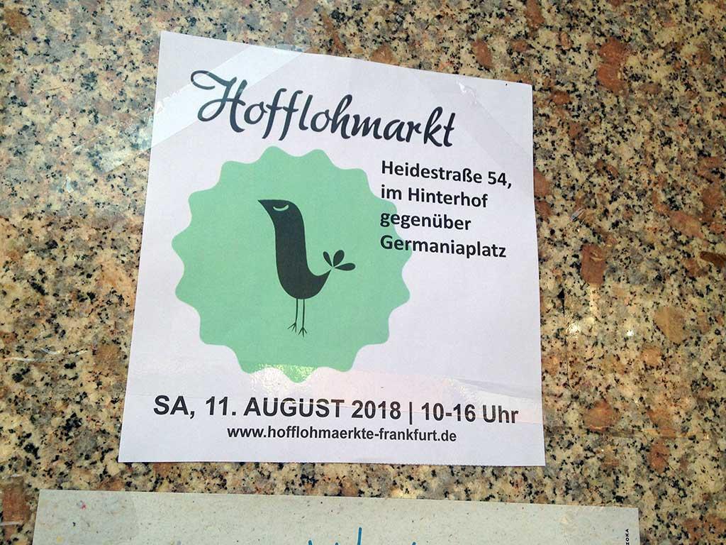 Hofflohmärkte in Frankfurt