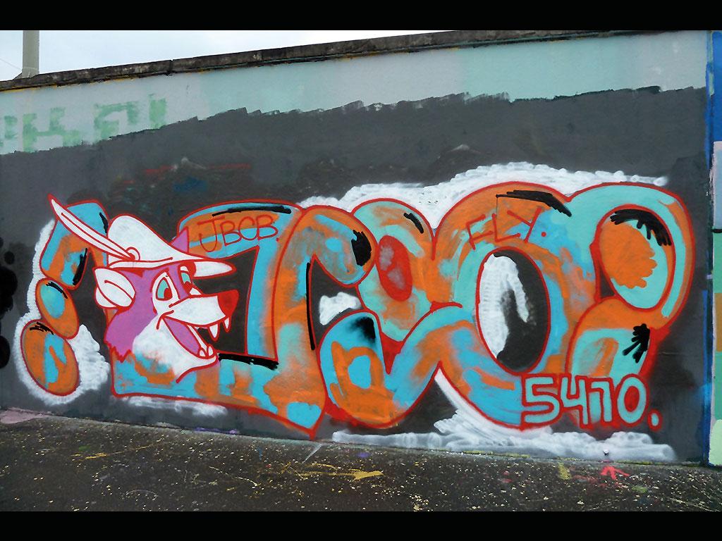 Luca Lugosis - Graffiti in Frankfurt