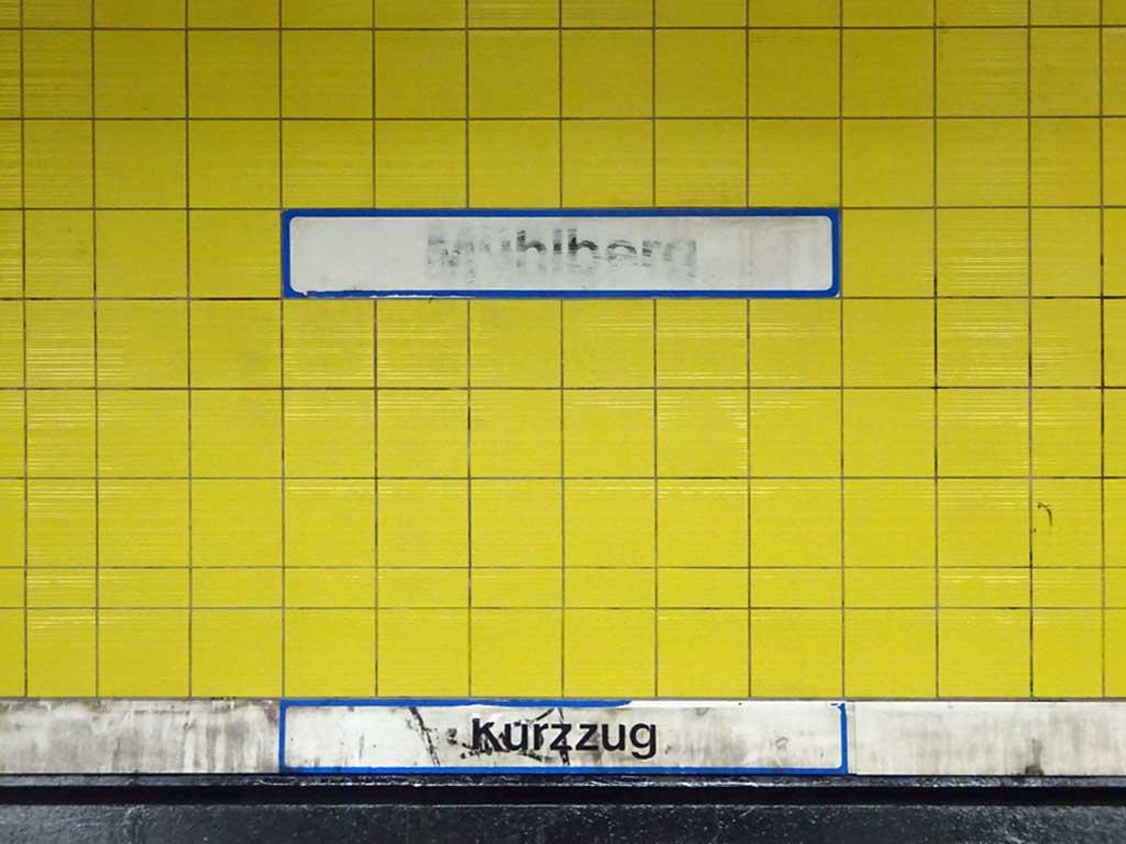 Kein Graffiti mehr in Frankfurt Mühlberg