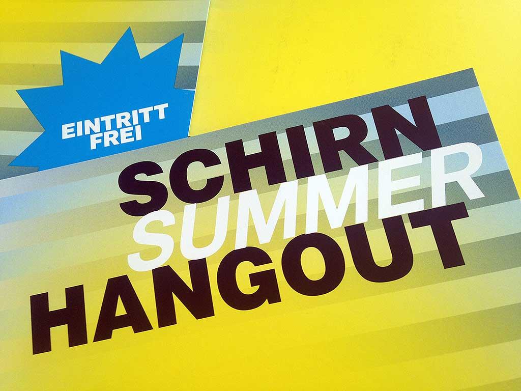 Schirn Summer Hangout 2018
