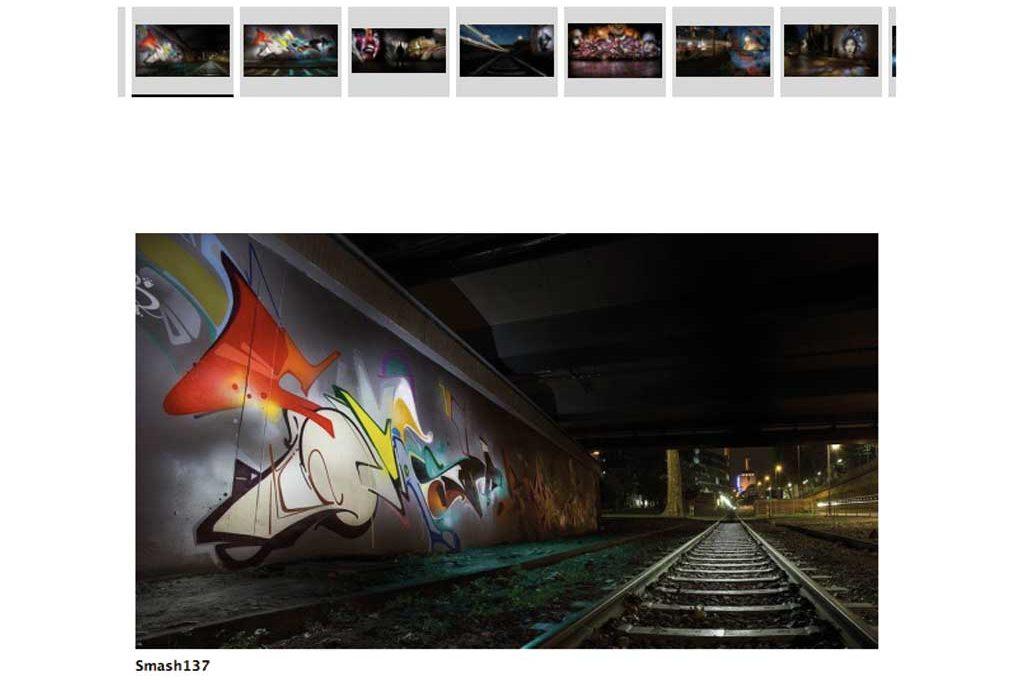 Florian Krause Lightbrush-Graffiti