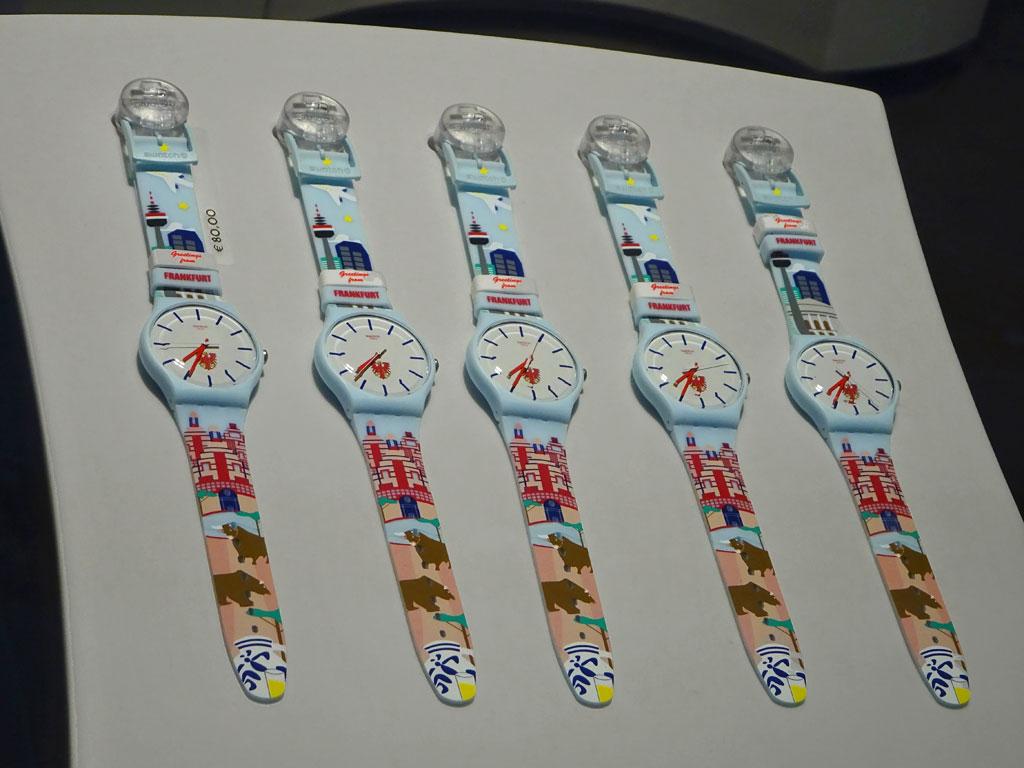 Ei Gude - Frankfurt Armbanduhr von Swatch