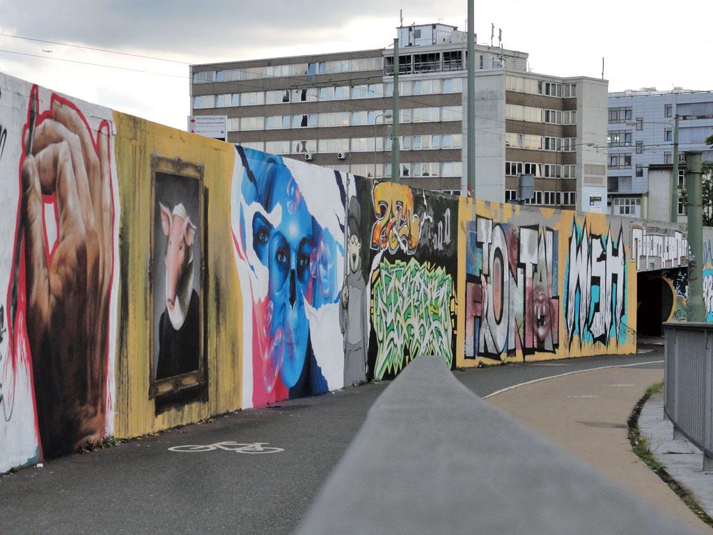 Graffiti an den Riederhöfen - 20 years 94