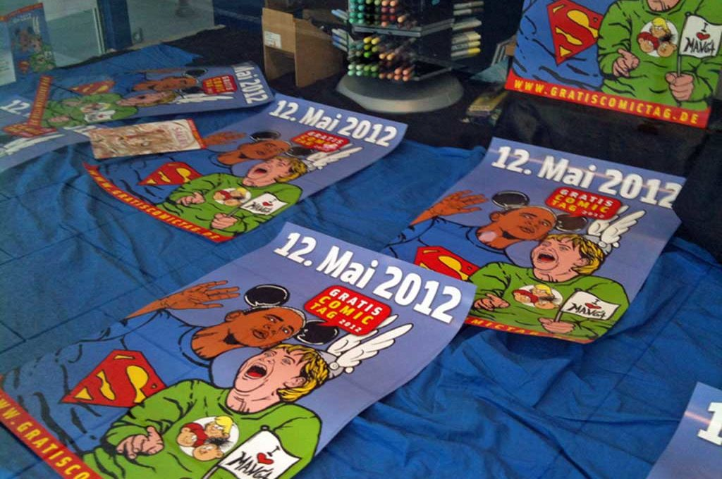 Gratis Comic-Tag 2012 in Frankfurt