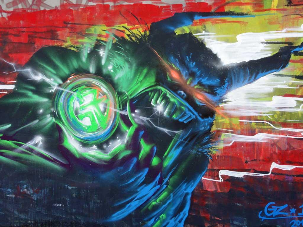 GZ-Graffiti-Art in Frankfurt