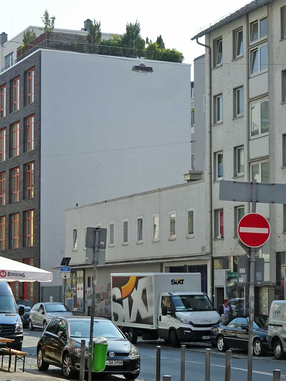 Allerheiligenstraße in Frankfurt am Main