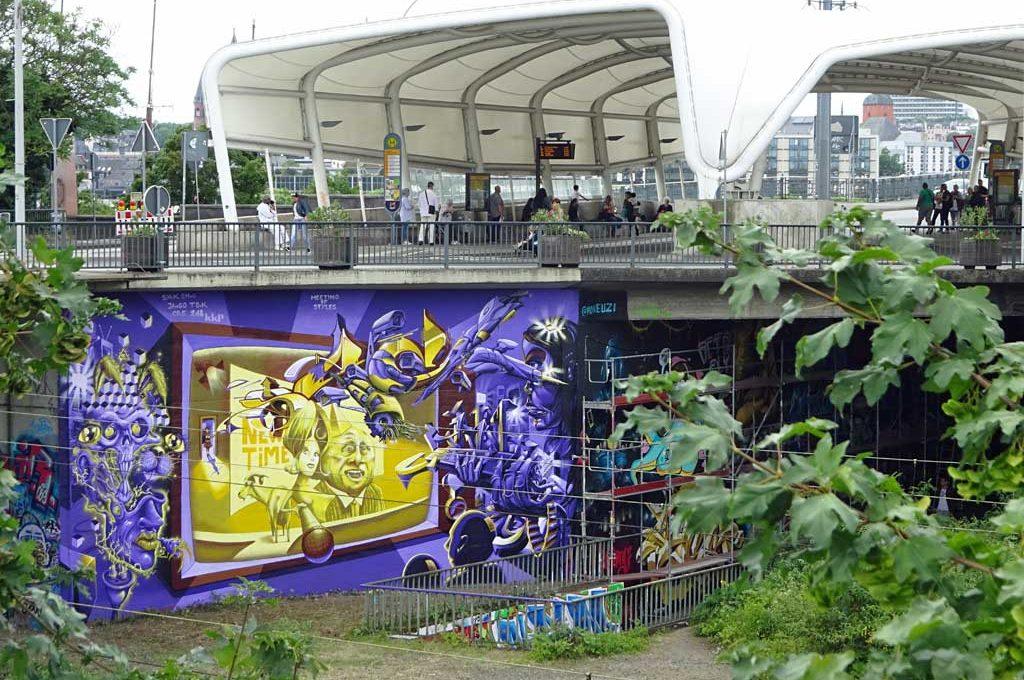 Meeting of Styles Graffiti Festival in Wiesbaden