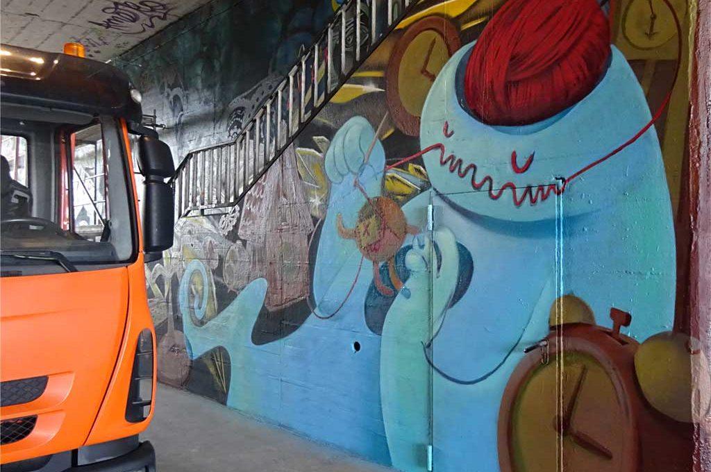 Fotos vom Graffitikunst-Festival MEETING OF STYLES 2018 in Wiesbaden