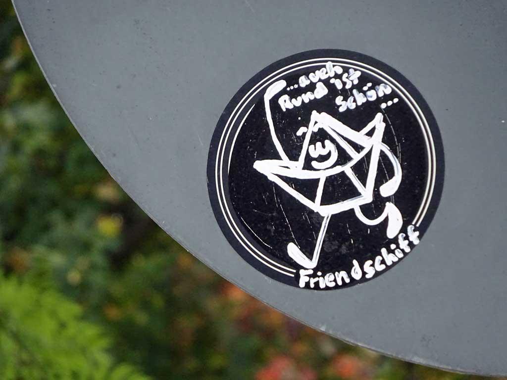 Das Friendschiff - Aufkleber in Offenbach