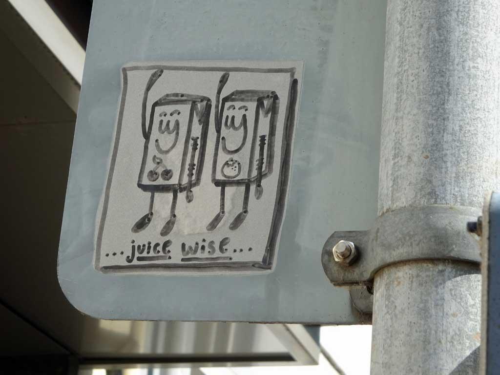 Das Friendschiff - Street Art in Offenbach