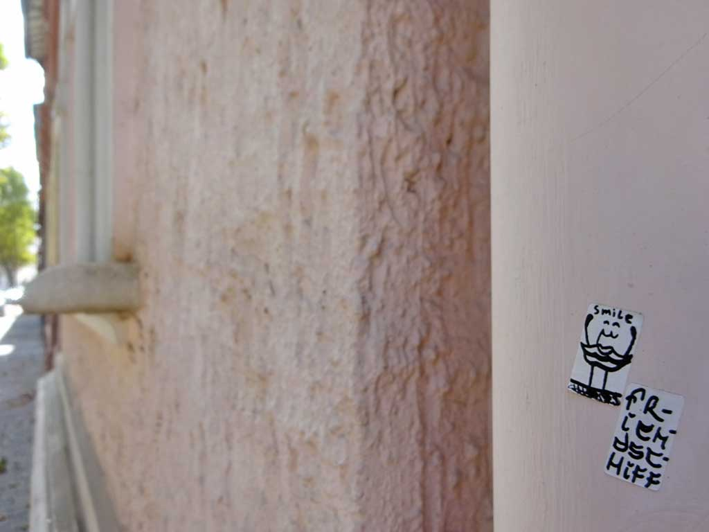 Das Friendschiff - Sticker Art in Offenbach