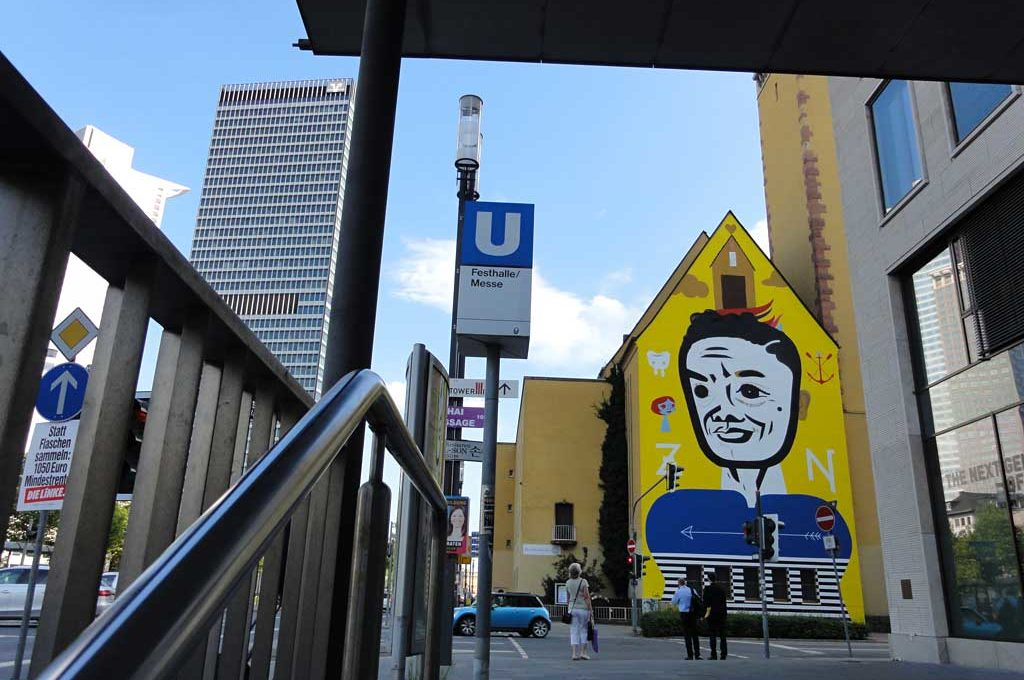 Street-Art-Brazil in Frankfurt am Main