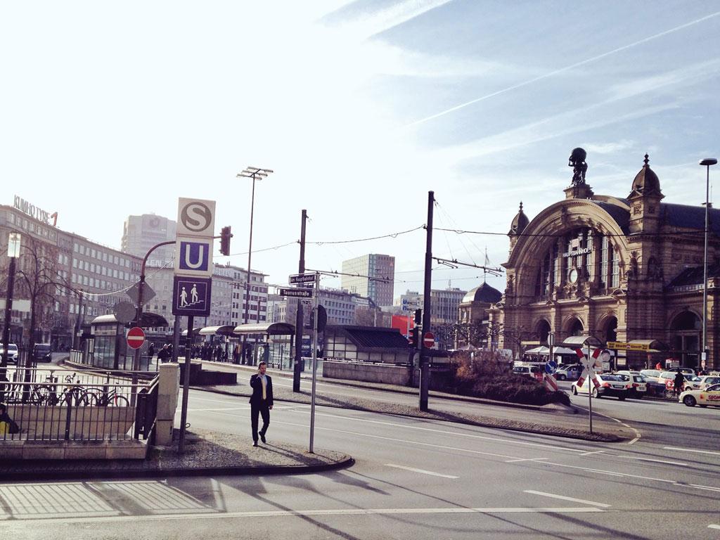 Streetview Frankfurt