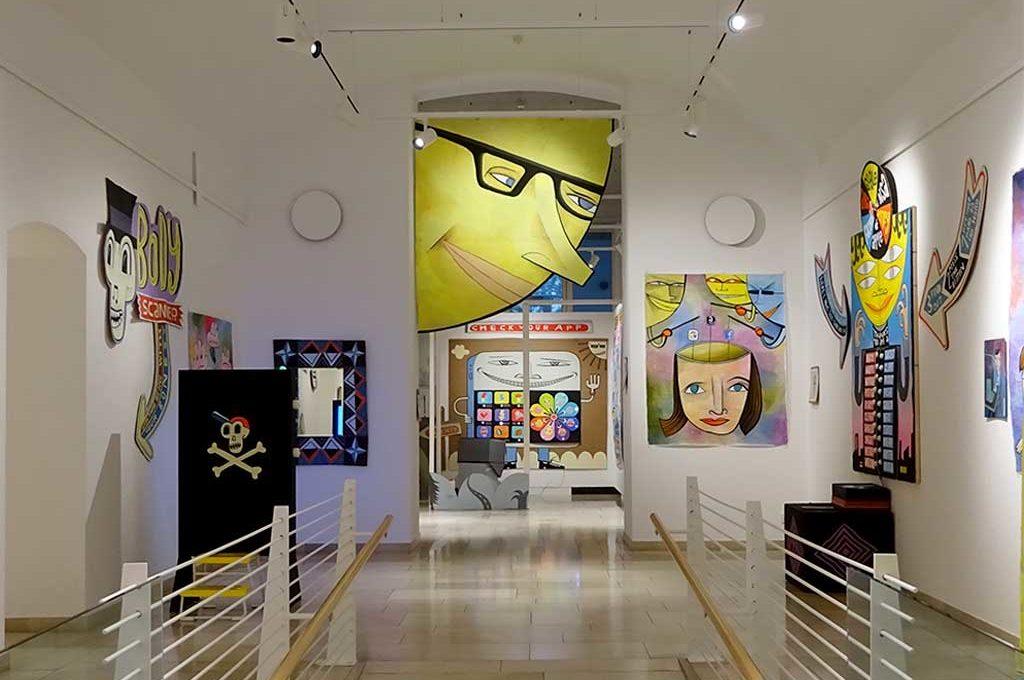 A bigger Brother Ausstellung im Museum für Kommunikation in Frankfurt am Main