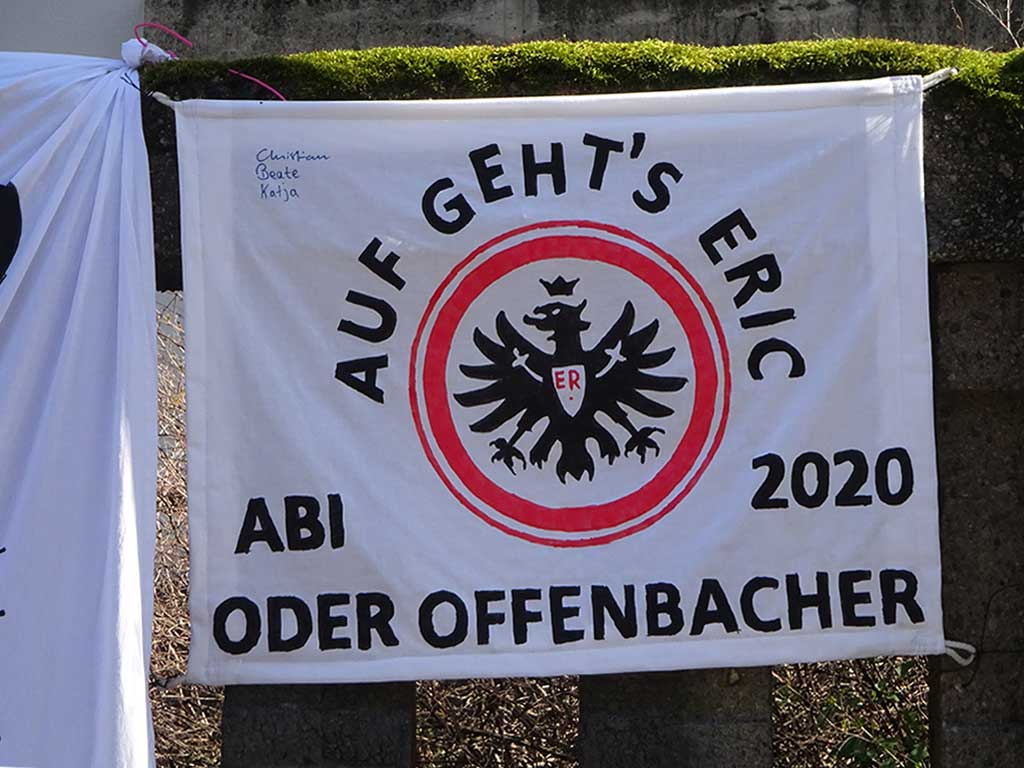 Abi-Banner in Frankfurt - Abi oder Offenbacher