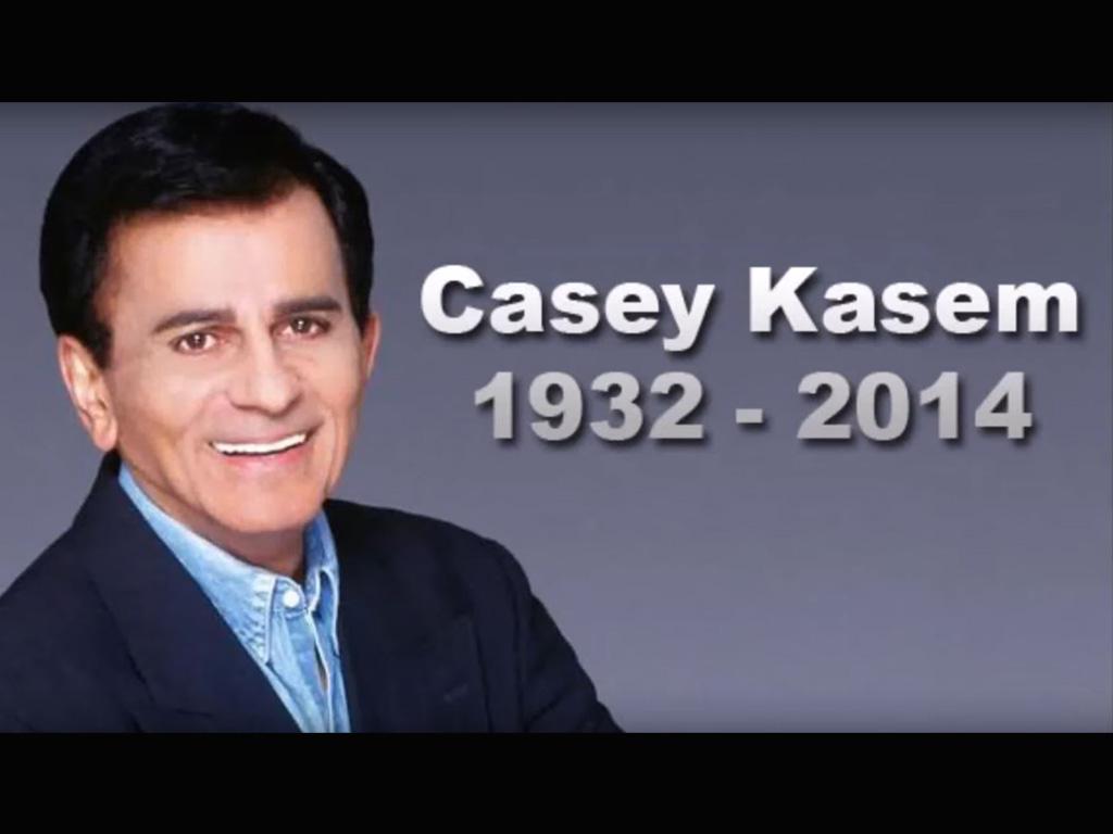 American Top 40 mit Casey Kasem (beim Radiosender AFN)