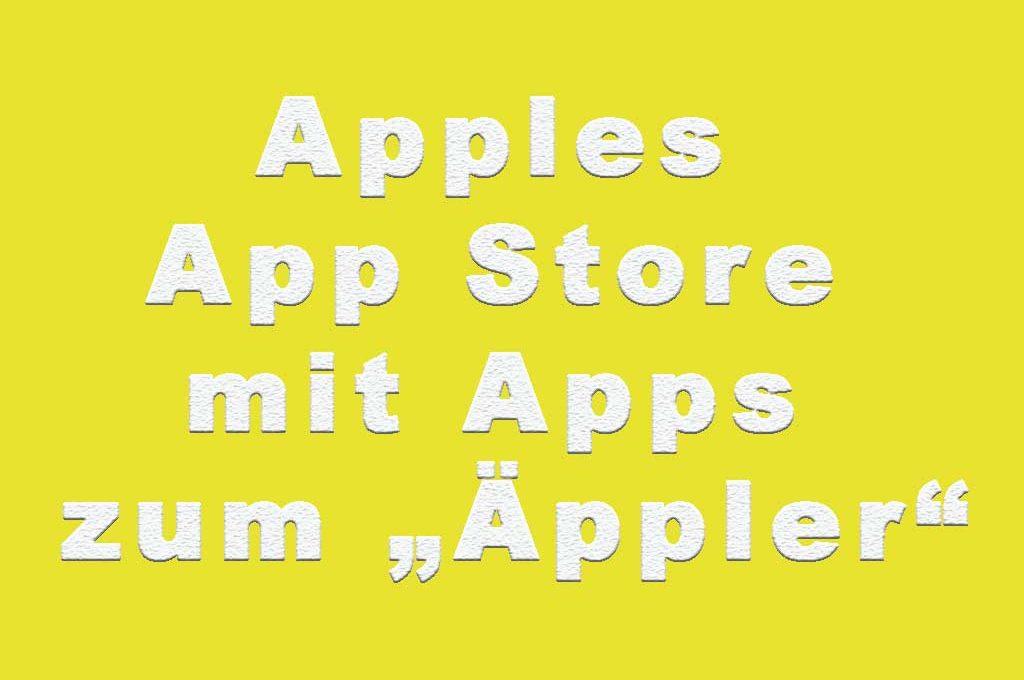 Apfelwein-Apps im App Store von Apple