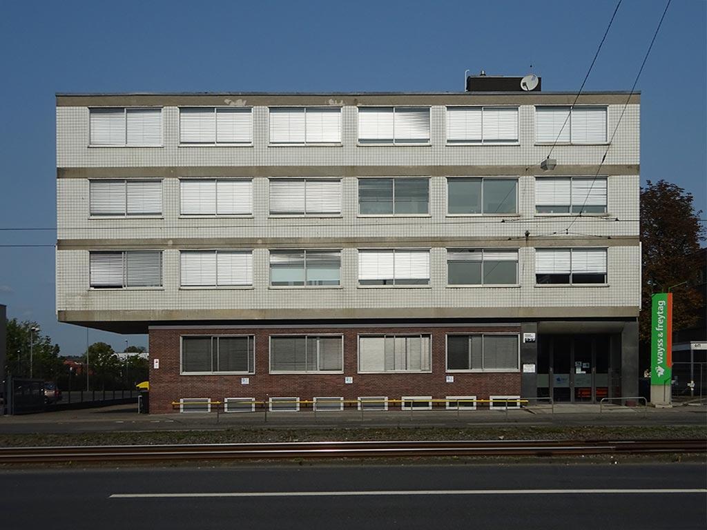 Architektur in Frankfurt- Hanauer Landstraße 439
