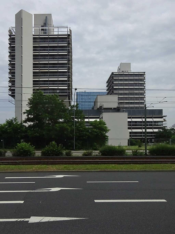 Architektur in Frankfurt - Olivett-Türme