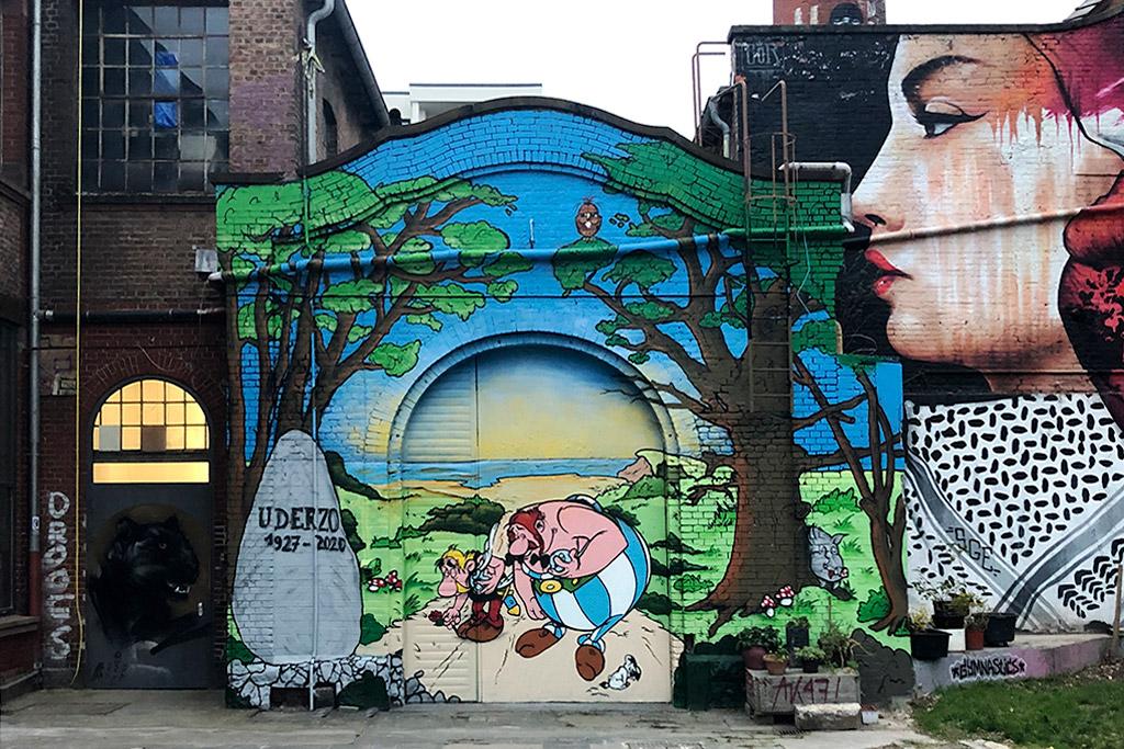 Asterix und Obelix Mural Art