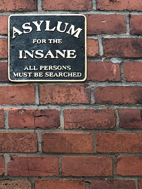 Asylum for the insane