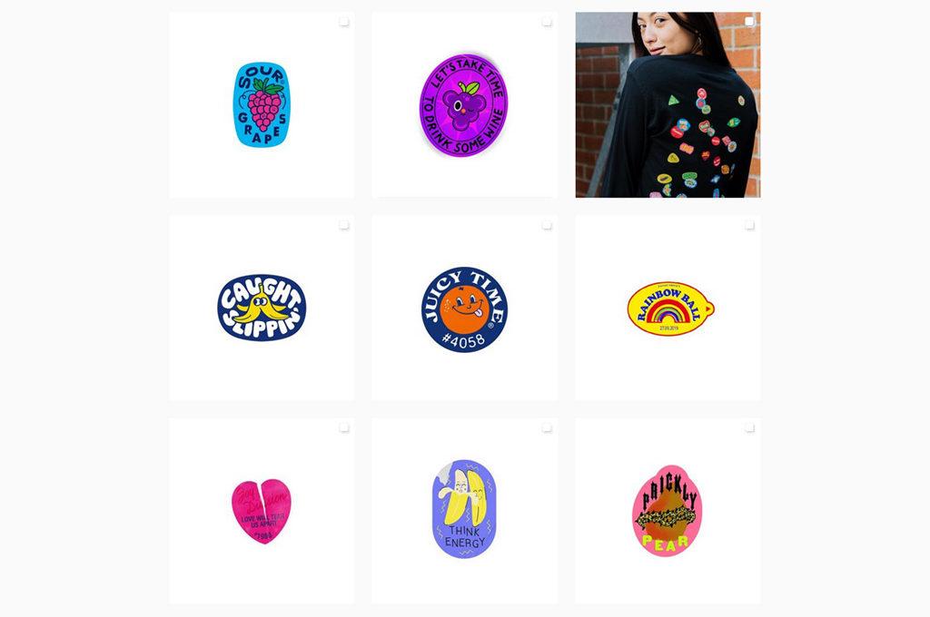 Aufkleber von Früchten sammeln mit @fruity_stickers auf Instagram